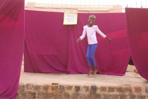 Fauziya dancing